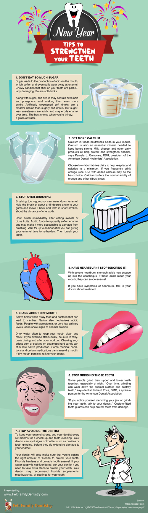 New Year Tips to Strengthen Your Teeth [infographic]
