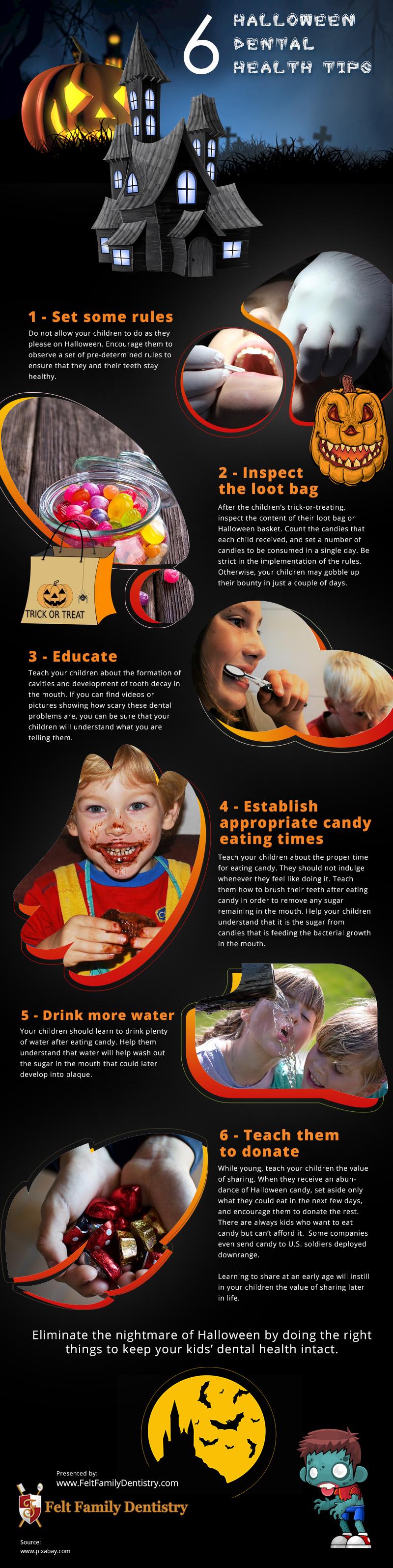 6 Halloween Dental Health Tips [infographic]