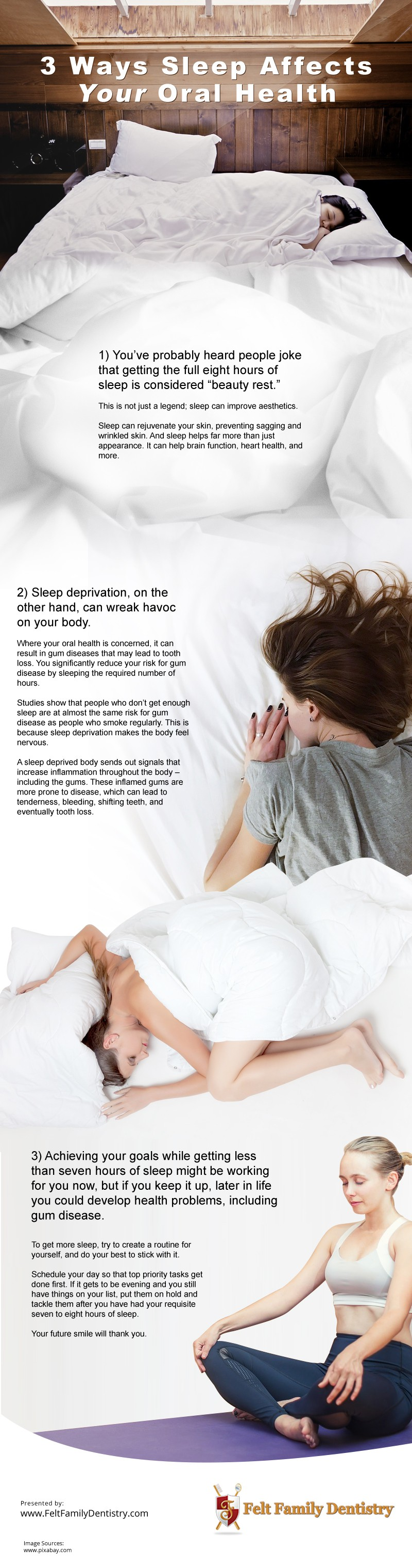 3 Ways Sleep Affects Your Oral Health [infographic]